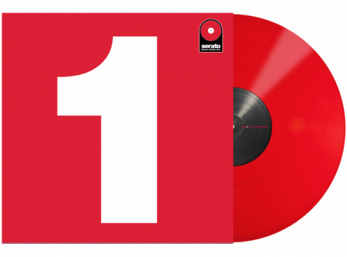 "Serato 12"" Control Vinyl Performance Series (одна штука) - Red по цене 1 620 руб."