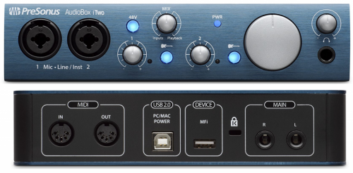 PreSonus AudioBox iTwo Studio по цене 24 254 руб.