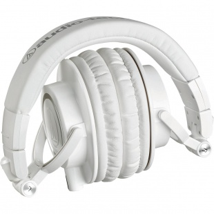 AUDIO-TECHNICA ATH-M50XWH WHITE по цене 11 700 руб.