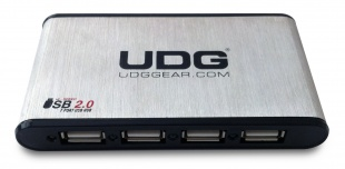 UDG Creator DIGI Hardcase Large Black (With 7 ports USB HUB and Universal Pin Plugs Power Adapter) по цене 2 204.00 руб.