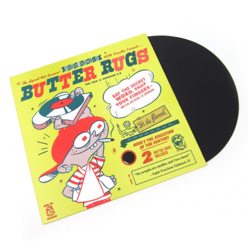 Thud Rumble - Butter Rugs Black (пара) по цене 1 550 руб.