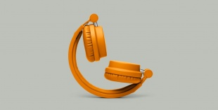 URBANEARS ZINKEN Bonfire Orange по цене 6 690 руб.