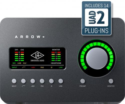 Universal Audio Arrow по цене 30 000 руб.