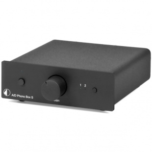 Pro-Ject PHONO BOX S Black по цене 11 400 руб.
