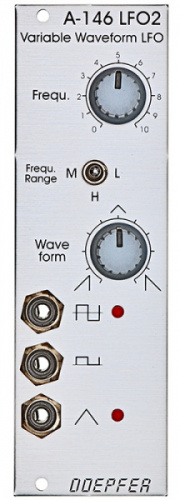 Doepfer A-146 Low Frequency Oscillator 2 по цене 6 250.00 ₽