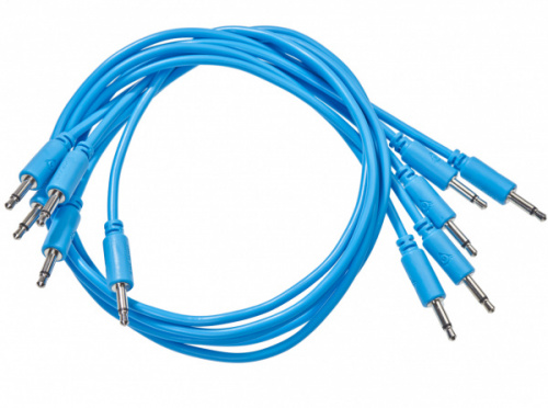 Black Market Modular patchcable 5-Pack 100 cm blue по цене 920 руб.