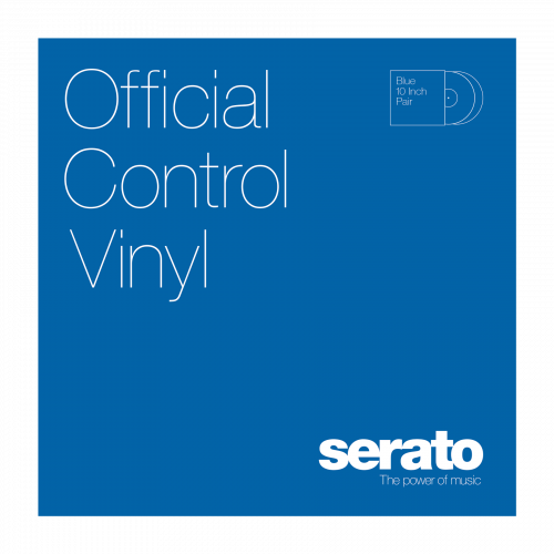 "Serato 12"" Control Vinyl Performance Series (пара) - Blue по цене 2 780 руб."