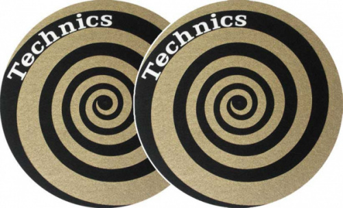 Slipmat-Factory Technics Spiral Golden (Пара) по цене 1 540 руб.