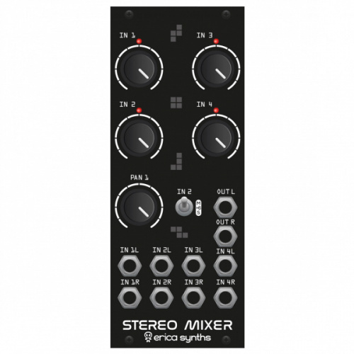 Erica Synths Drum Stereo Mixer по цене 14 380 ₽
