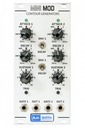 AJH Synth MiniMod Dual Contour silver по цене 16 410 руб.