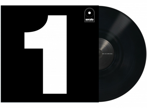 "Serato 12"" Control Vinyl Performance Series (одна штука) - Black по цене 1 640 руб."