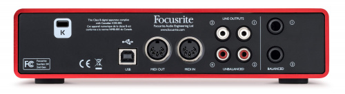 FOCUSRITE SCARLETT 2I4 2ND GEN USB по цене 13 680 руб.