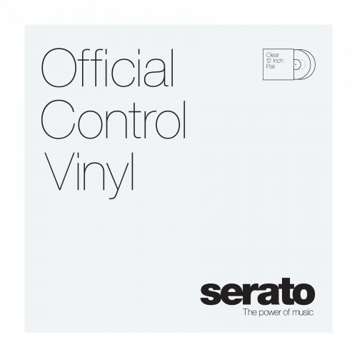 "Serato 12"" Control Vinyl Performance Series (пара) - Clear по цене 2 800 руб."