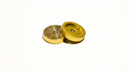 CHINMACHINE INDUSTRIES 45 adapter - Gold  по цене 600 руб.