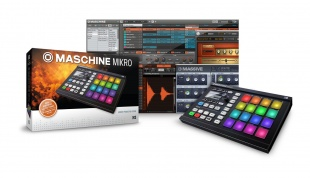 Native Instruments Maschine Mikro Mk2 Blk по цене 21 859.50 руб.