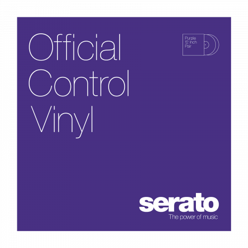 "Serato 12"" Control Vinyl Performance Series (пара) - Purple по цене 3 130 руб."