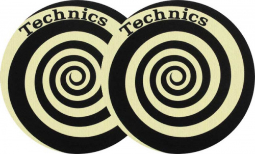 Slipmat-Factory Spiral Yellow (Пара) по цене 1 510 ₽