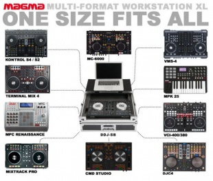 Magma Multi-Format Workstation XL black/silver по цене 14 190 руб.